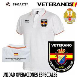 POLOS ARMADA ESPAÑOLA: VETERANOS - UNIDAD DE OPERACIONES ESPECIALES