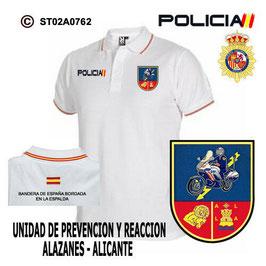 POLOS POLICIA NACIONAL: CNP - UPR / UNIDADES PREVENCION Y REACCION / ALICANTE