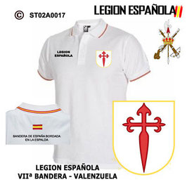 POLO LEGION ESPAÑOLA : VIIª BANDERA VALENZUELA