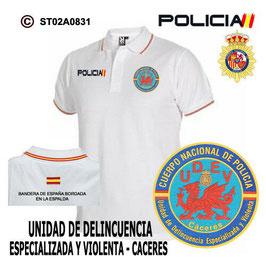 POLOS POLICIA NACIONAL: CNP - UNIDAD DE DELINCUENCIA ESPECIALIZADA Y VIOLENTA