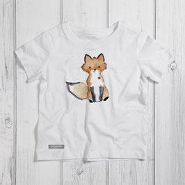 "Kinder T-Shirt ""Fuchs"""