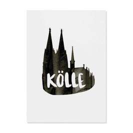 "Postkarte ""Kölle"""