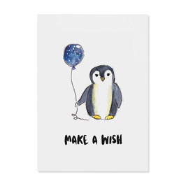 "Postkarte ""Pinguin"""
