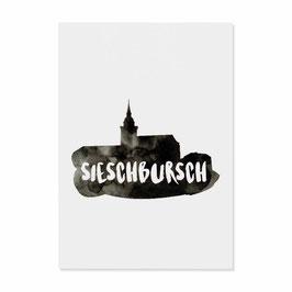 """Postkarte """"Sieschbursch"""""""