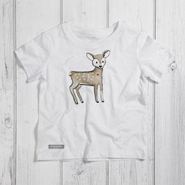 "Kinder T-Shirt ""Reh"""