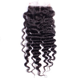 Brazilian Full Lace Hair Closure - Deep Wave