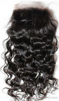 Malaysian Silk Closure - Natural Wavy