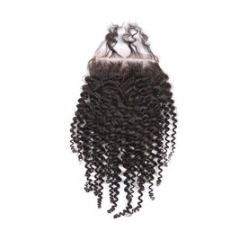 Brazilian Full Lace Hair Closure - Kinky Curly