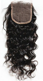 Peruvian Full Lace Hair Closure - Natural Wavy