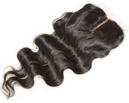 Peruvian Silk Closure - Deep Wave