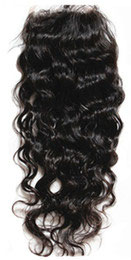 Brazilian Silk Closure - Natural Wavy