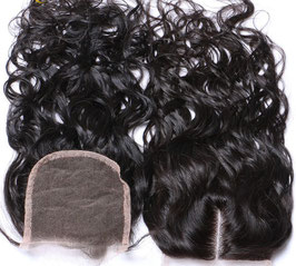 Malaysian Lace Closure - Natural Wavy