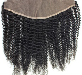 Peruvian Lace Frontal - Kinky Curly