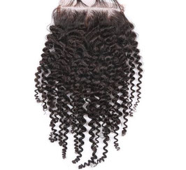 Brazilian Lace Closure - Kinky Curly