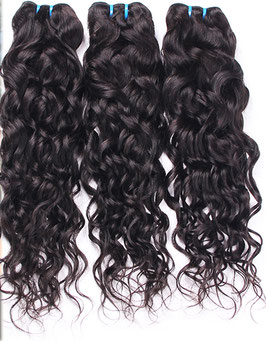 Brazilian Hair Weft - Natural Wavy