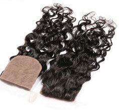 Peruvian Silk Closure -Natural Wavy