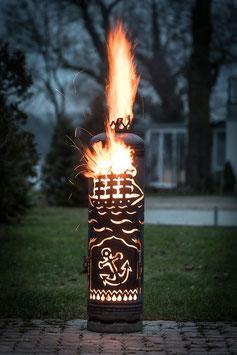 Feuerstelle SEGELSCHIFF