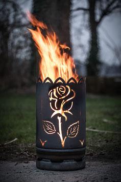 kleine Feuertonne ROSE