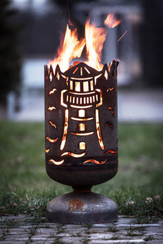 Feuerkorb LEUCHTTURM / SEGELSCHIFF