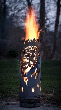 Feuertonne LÖWE