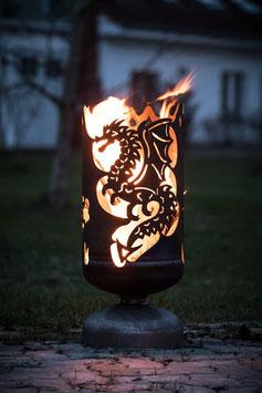 Feuerkorb DRACHE keltisch