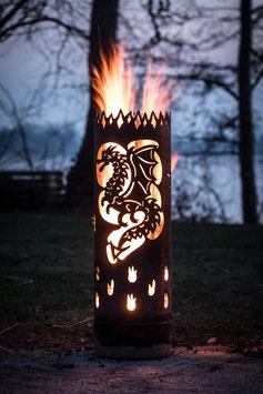 Feuertonne DRACHE keltisch