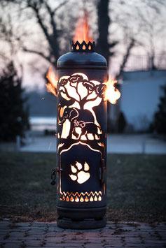 Feuerstelle AFRIKA