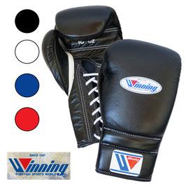 ボクシンググローブ 16オンス ひも式 プロフェッショナルタイプ Winning 受注生産 納期6ヶ月