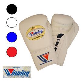 ボクシンググローブ 8オンス ひも式 プロ試合用 Winning 受注生産 納期6ヶ月
