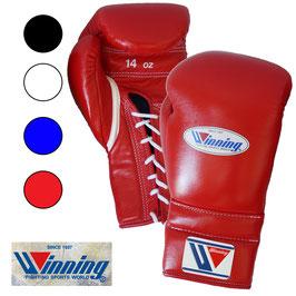 ボクシンググローブ 14オンス ひも式 プロフェッショナルタイプ Winning 受注生産 納期6ヶ月