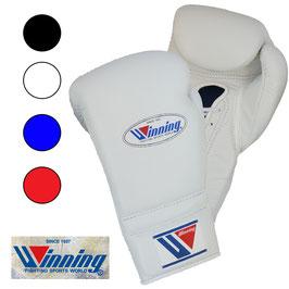 ボクシンググローブ 12オンス ひも式 プロフェッショナルタイプ Winning 受注生産 納期6ヶ月