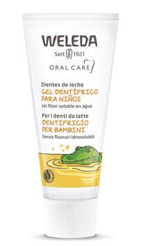 Pasta Dental para niños  (Gel dentrífico) Libre de Fluor - Envase x 50 ml
