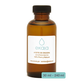 Aceite de Onagra (Bertholletia excelsa) EVENING PRIMROSE OIL - Frasco x 30 ml