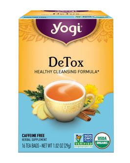 Yogi Tea Detox Orgánico - Caja x 16 Filtrantes