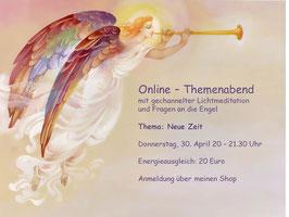 Online Themenabend mit Lichtmeditation - Aufzeichnung April 2020