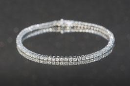 Bracelet Weissgold 750/000, 76 Brillanten 2.11 ct. TW si, Ref. 3.2.202