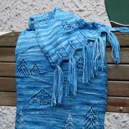 Wolle für KOBRI Nr. 15 Schal/Winterwonderland
