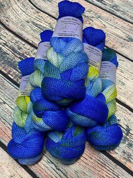 Lovely Einfachblank - Farbverlauf Blau Hellgrün Blau