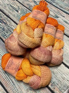 Lovely Doppelblank- Farbverlauf Lachs-Orange