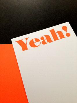 YEAH! • Neonkarte