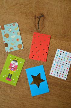 10 Minikarten • Bunt gemischt