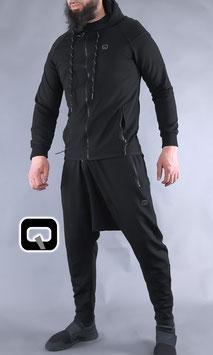 Survetement Legend Farbe Schwarz Joggingnanzug