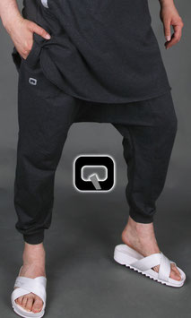 Winter Jogging Hose Farbe dunkel Grau