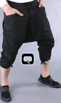 Pantacourt Jeans Farbe Schwarz 3/4 Hose