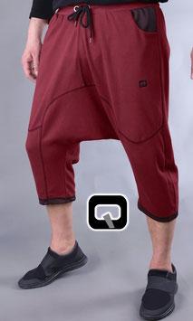 Panta court Jogginghose Kurz Farbe Rot