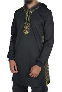Al Amana Jeans - Qamis Afrikano - Grün Langes Oberteil