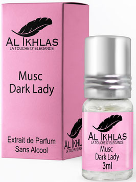 Misk Al Ikhlas Dark Lady 3 ml Parfümöl