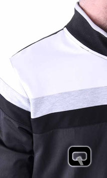 Qamis Obterteil - Gewand Long Farbe Schwarz mit Streifen