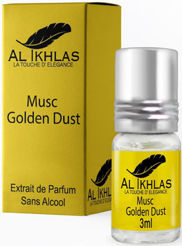 Misk Al Ikhlas Golden Dust 3 ml Parfümöl