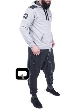 Qabail Jogginganzug Dual Set Farbe Hell Grau